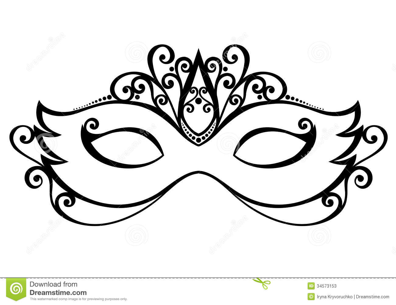 Masquerade Mask Stock Photos Image 34573153