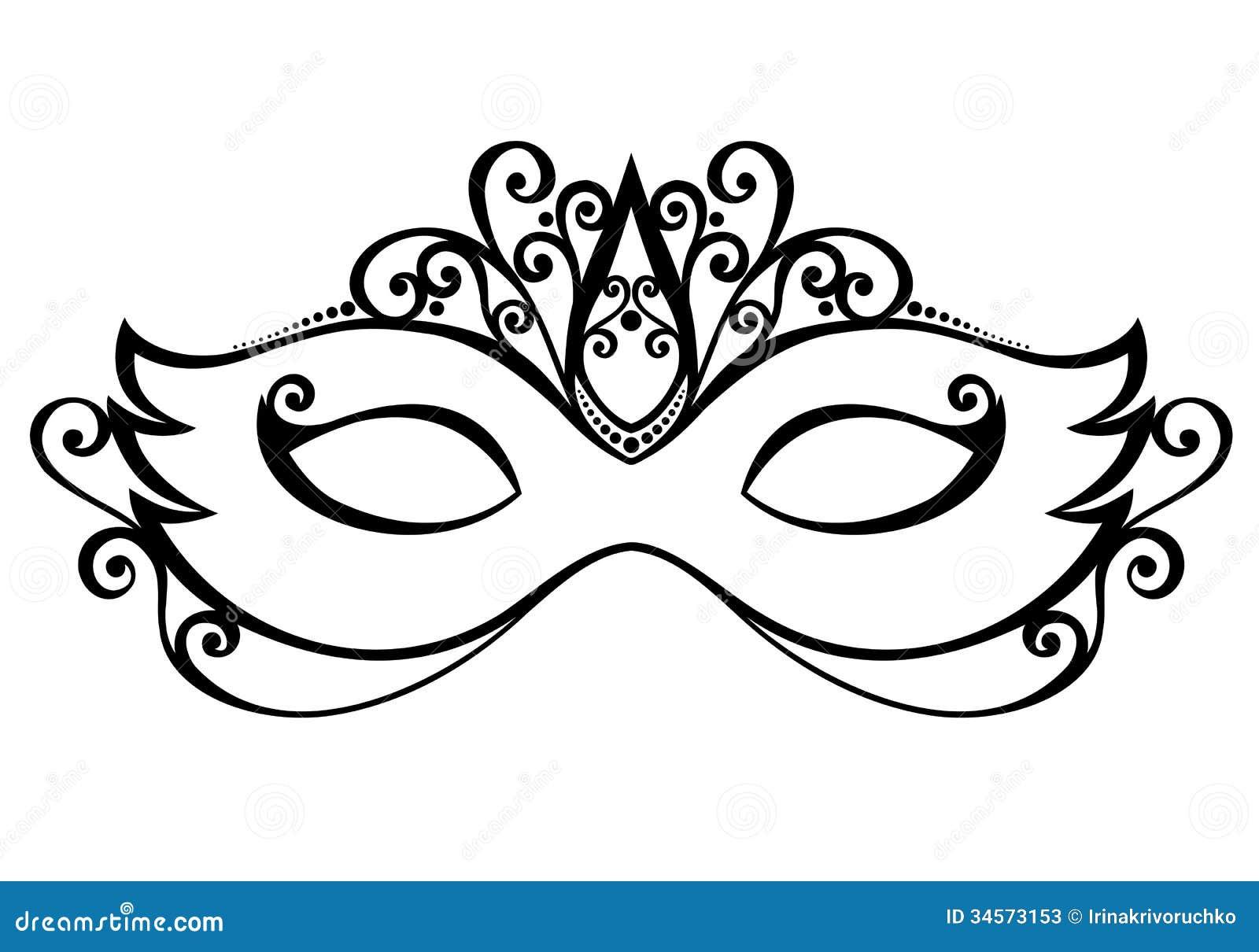 Masquerade Mask Stock Photos - Image: 34573153