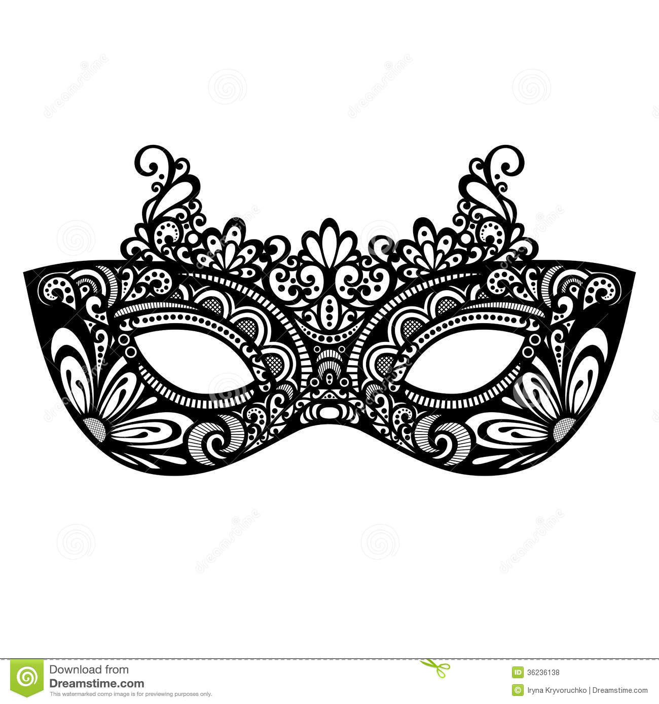 Masquerade Mask Royalty Free Stock Photos - Image: 36236138