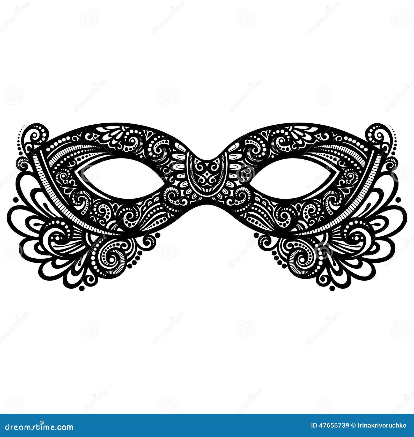 Funky Masquerade Mask Template Free Motif - Resume Template Samples ...