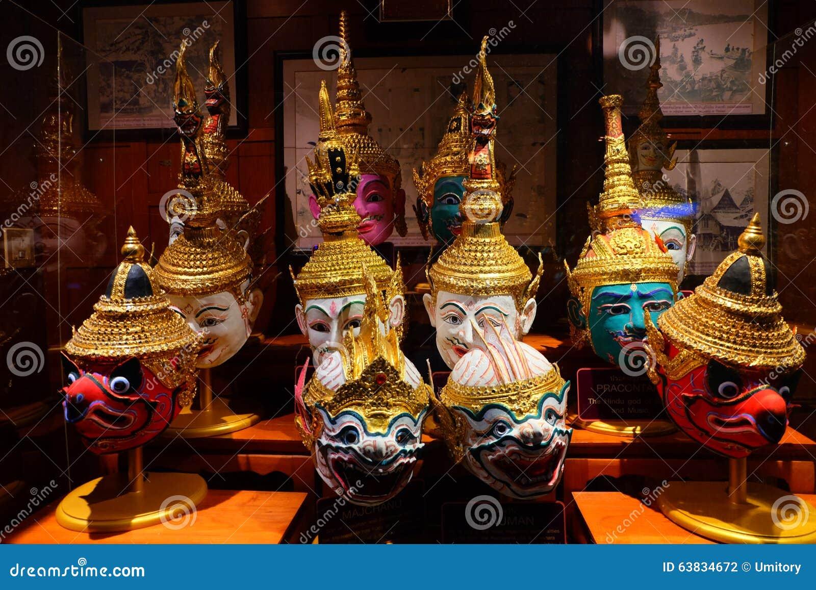 chaussure comment choisir pas cher Masques Thaïlandais Traditionnels Et Classiques (masques De ...