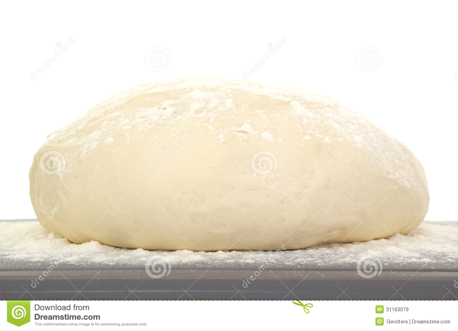 Massa de pão de aumentação: 1 de 4