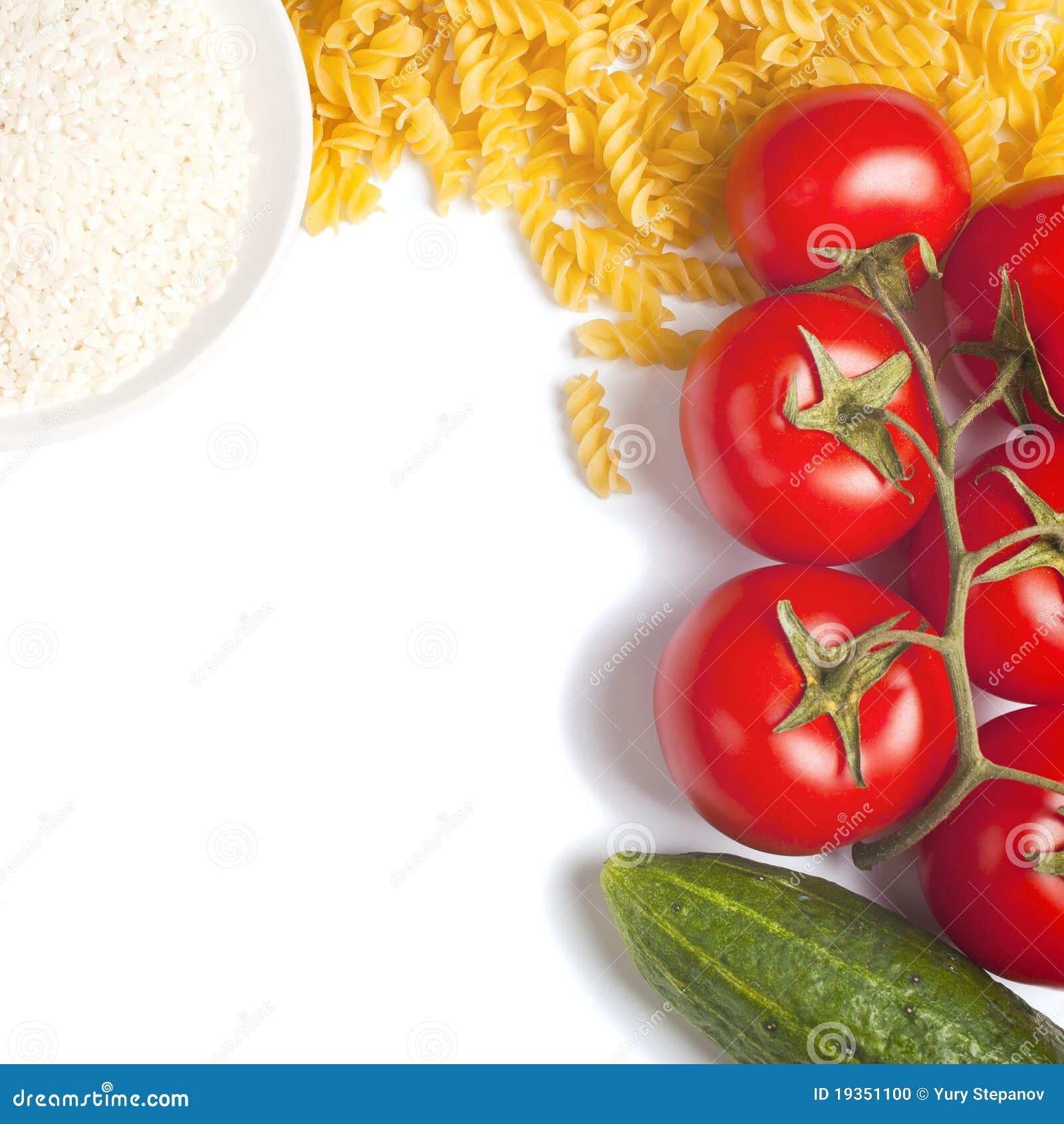 Massa e tomate