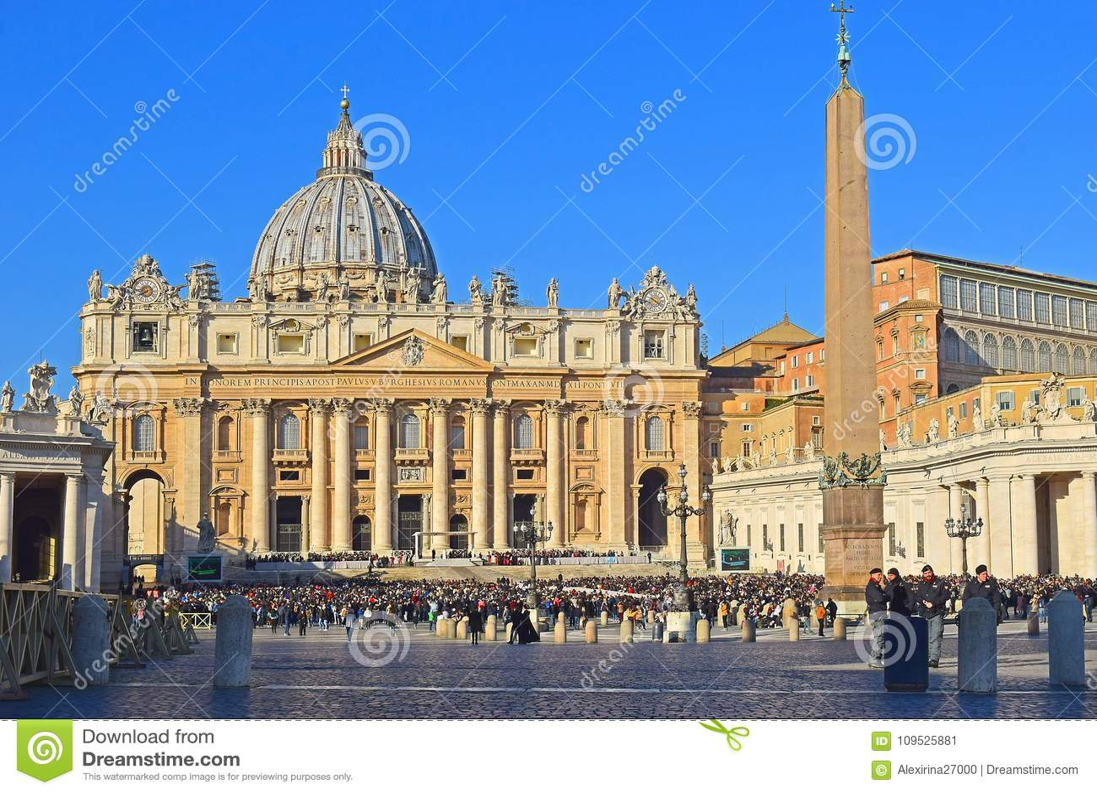 Massa settimanale del papa Francis nel Vaticano