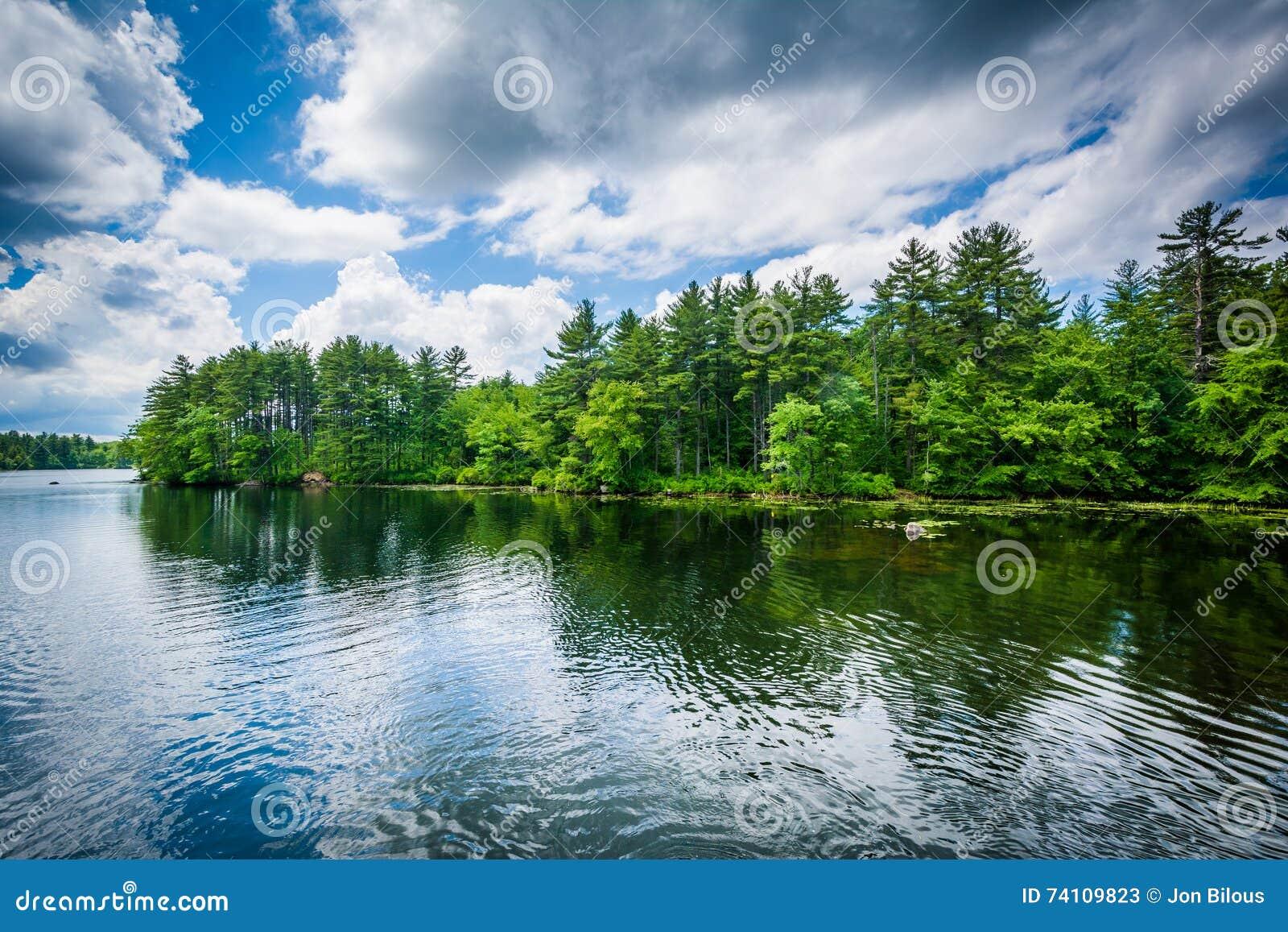 大P美國日記: Massabesic Lake, Manchester NH / 第二次遊冰淇淋湖