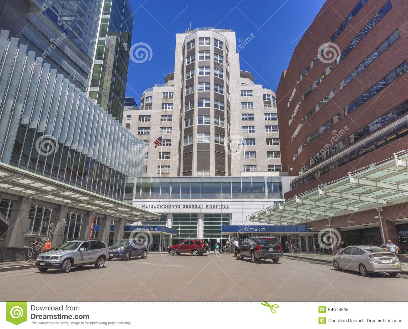 Massachusetts General Hospital Editorial Photo