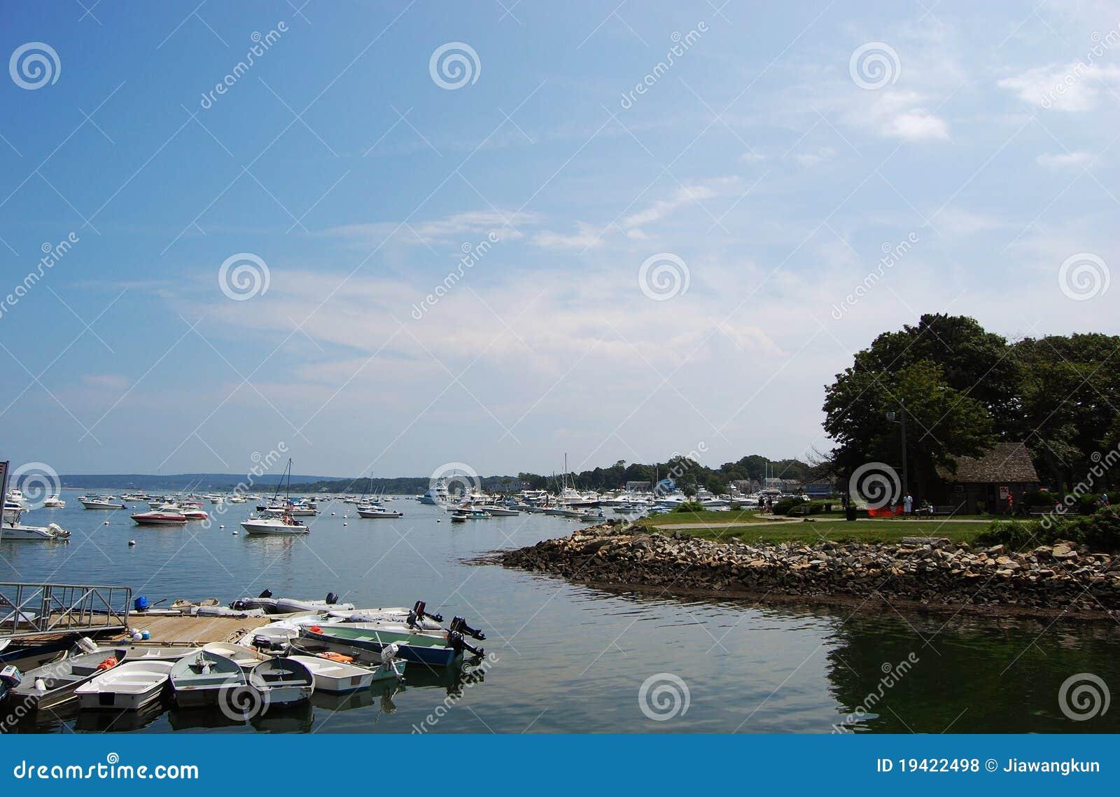 Massachusetts plymouth stenig havskust