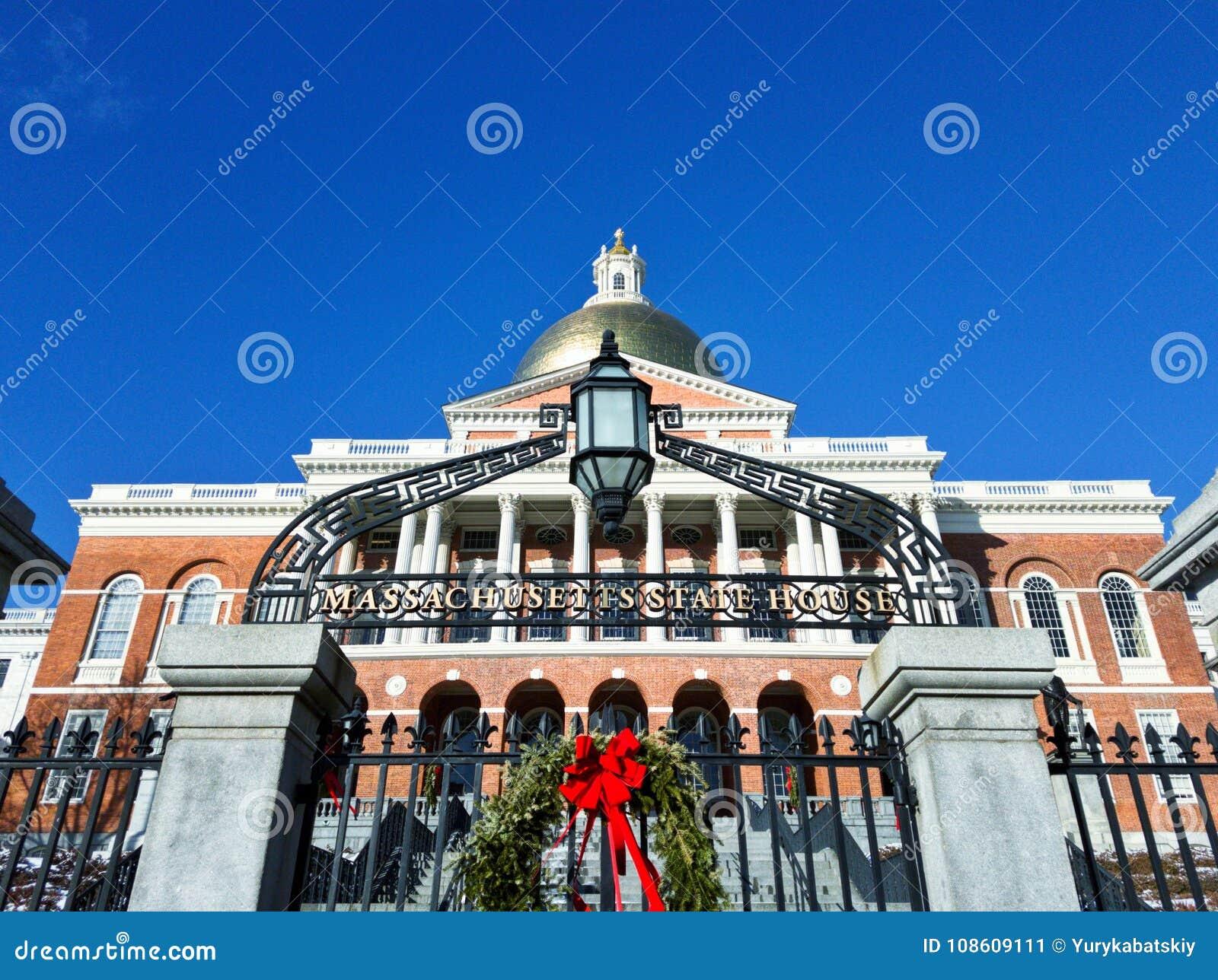 Massachusetts State House& X27