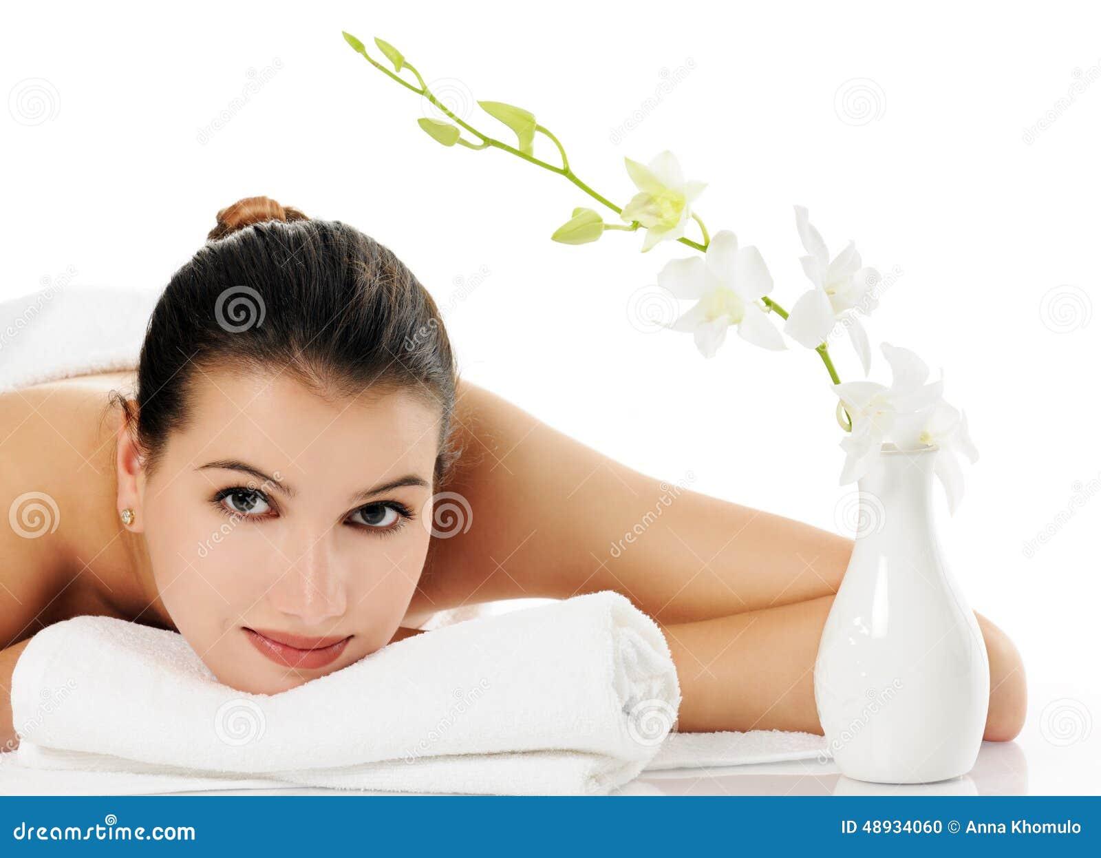 Beautiful masseuse