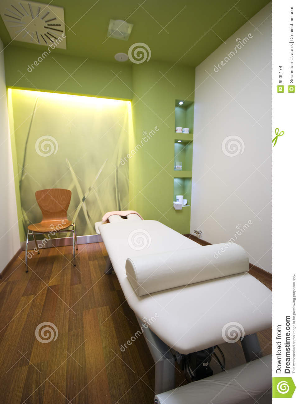 massage bed stock photo image of nature green empty 6939174 rh dreamstime com green room massage green massage norwalk ct