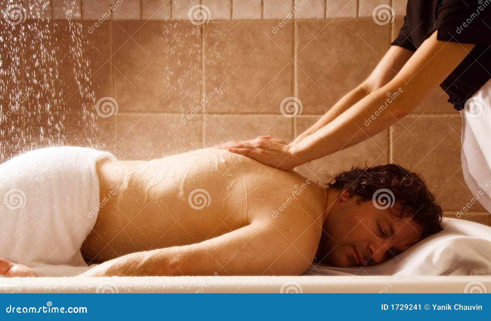 Massage de pluie
