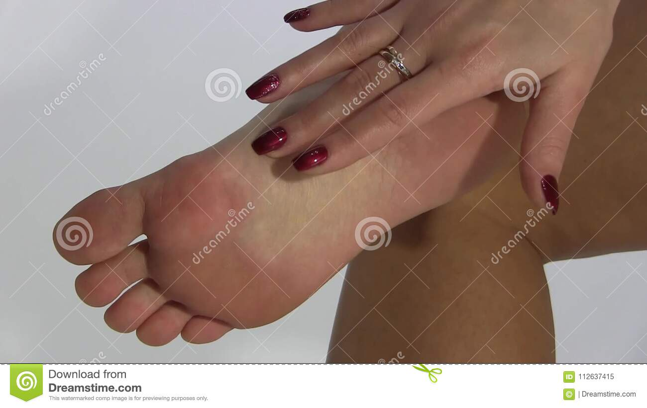Massage Girl Foot And Soles Stock Video Video Of Cool Beautiful 112637415