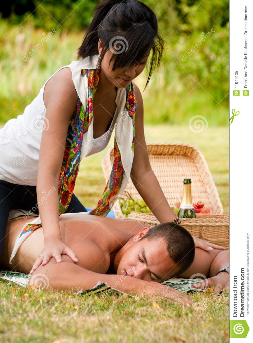A massage for him