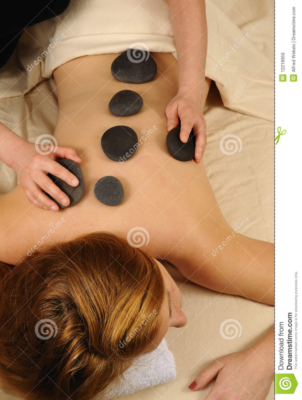 massage hot mineral stone therapy royalty stock images massage hot mineral stone therapy