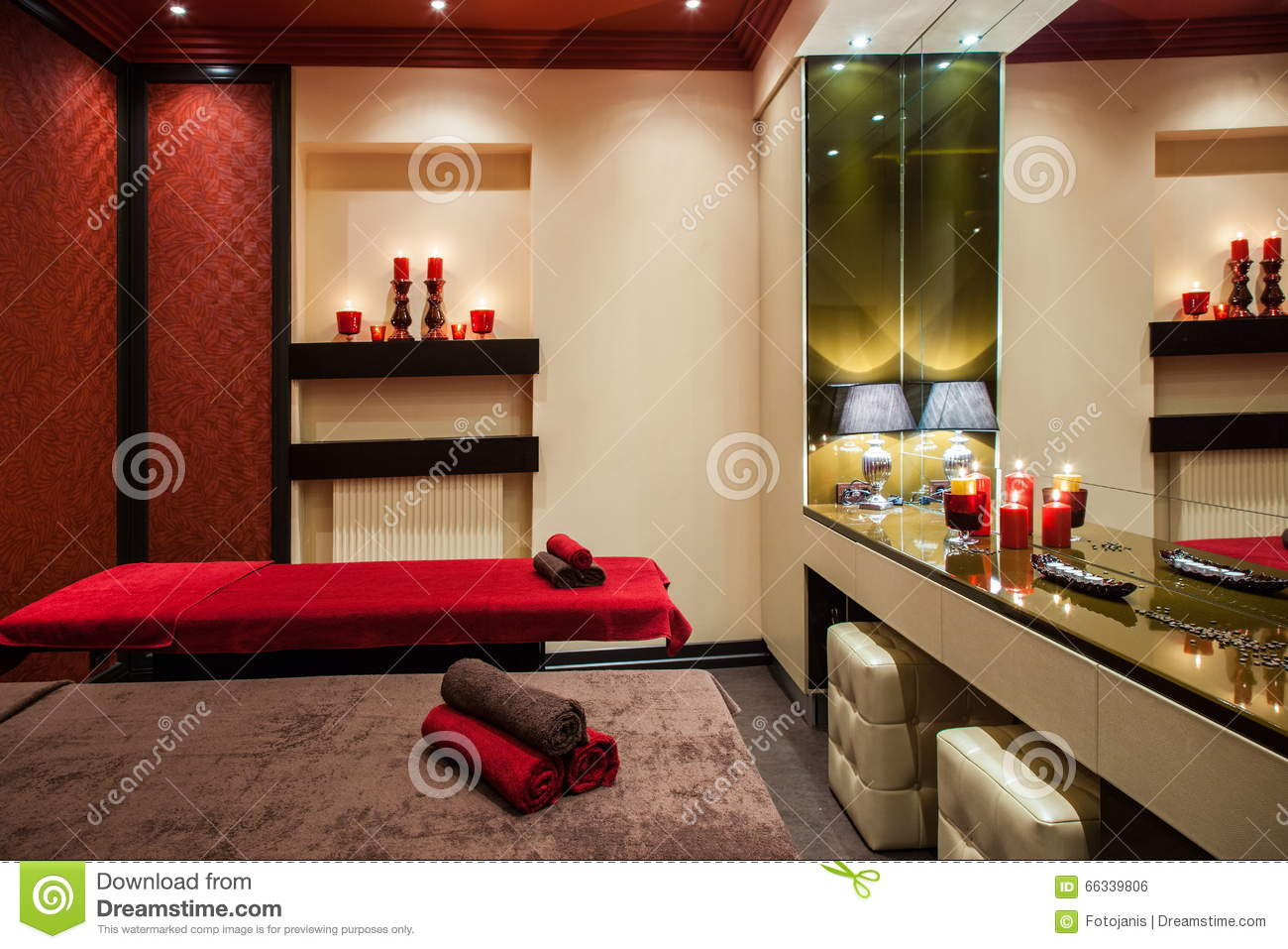 Private gym inside house royalty free stock image