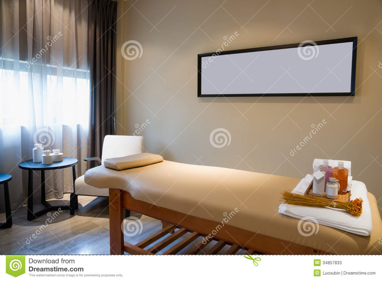 Massage Room Stock Photos Image 34857833