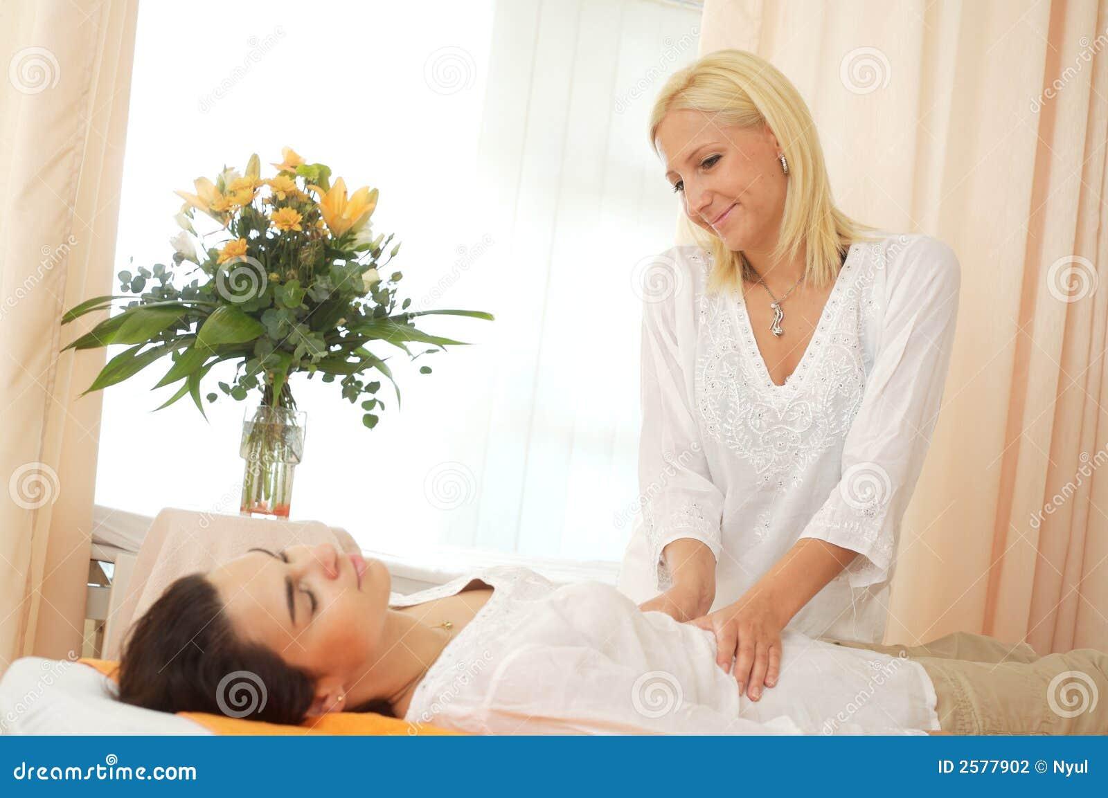 Massage in schoonheidssalon