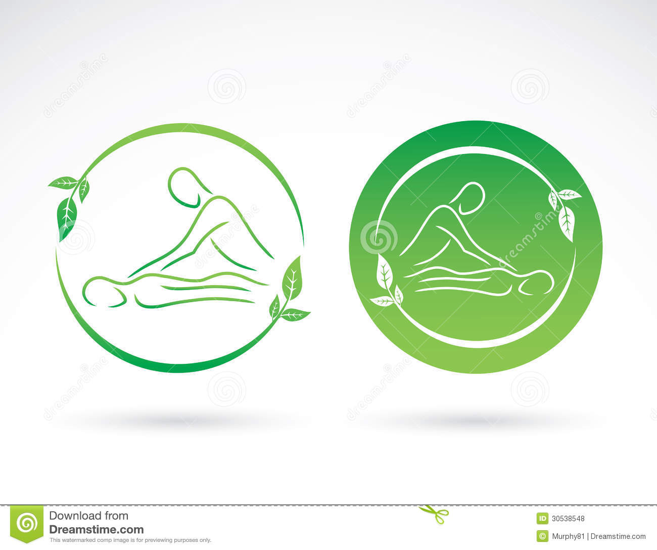 Massage signs stock vector illustration of icon alternative massage signs biocorpaavc Images