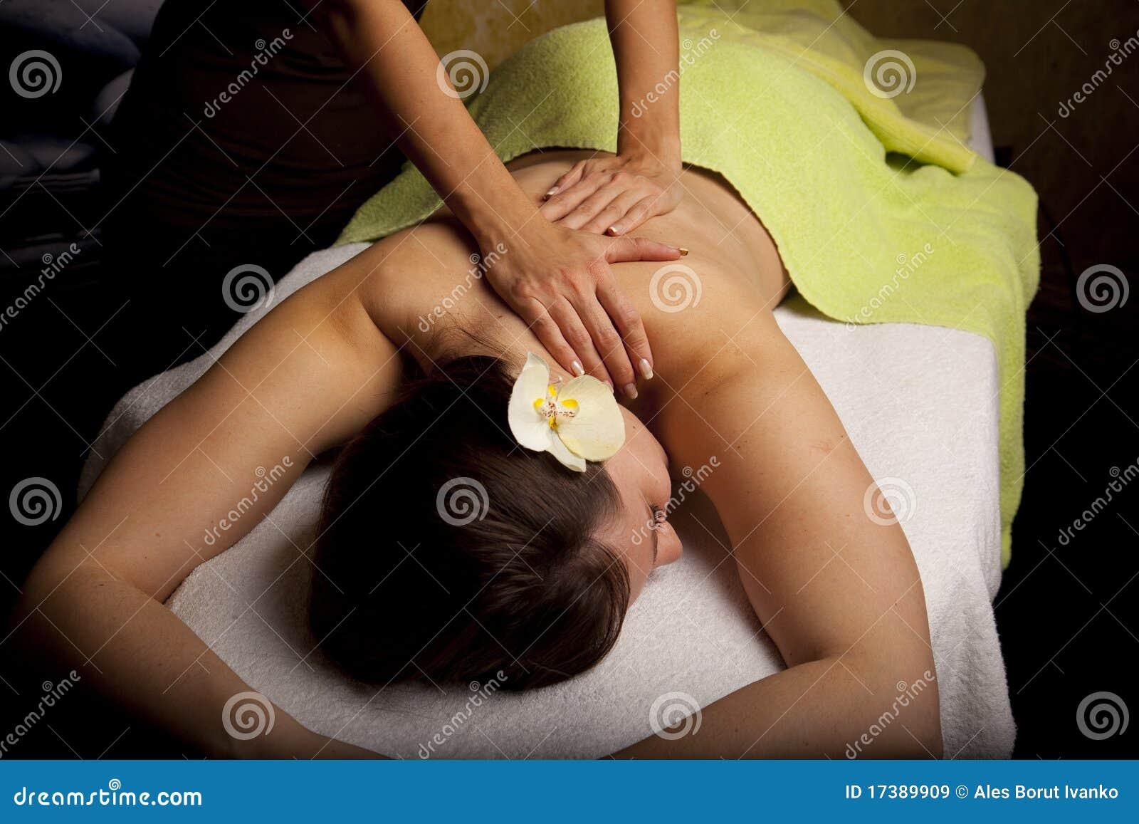 Massage in a SPA center