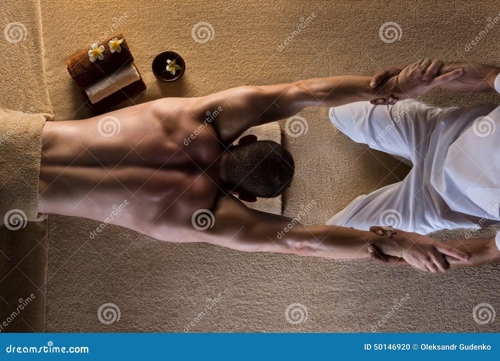 Massage sträckning