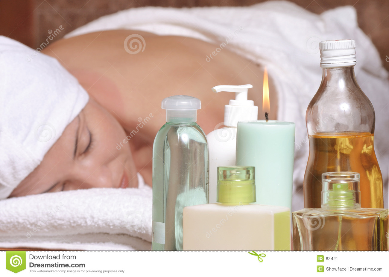 Massagem do aroma