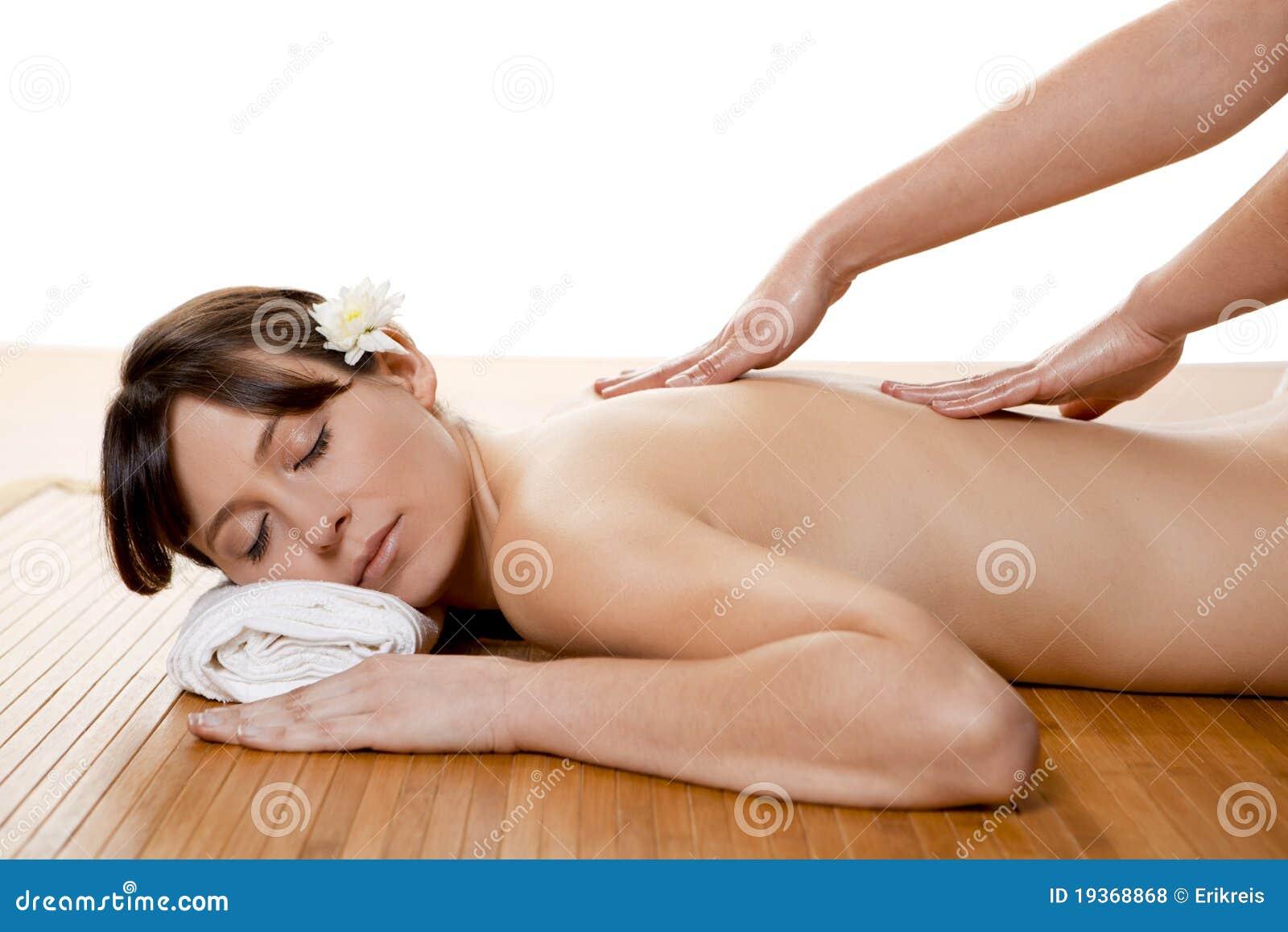 Massagem dos termas