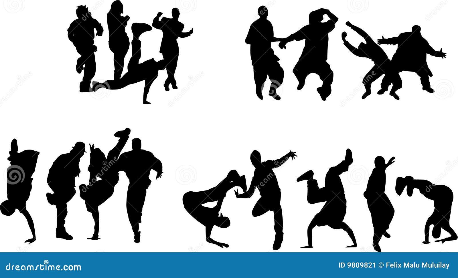 Freie Art Des Tanzens