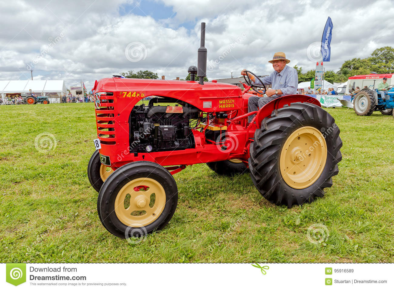 Massey Harris 744 PD Tractor