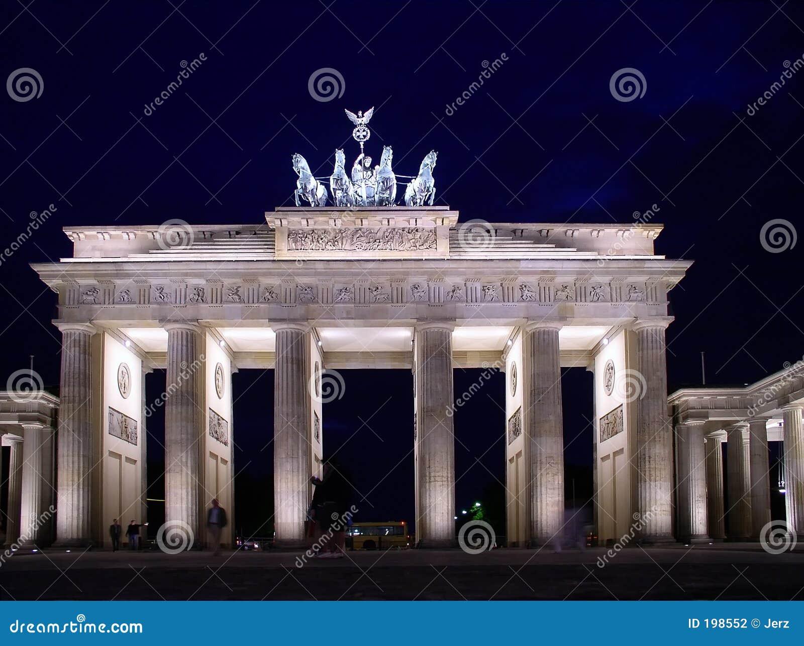 Massif de roche de Brandenburger