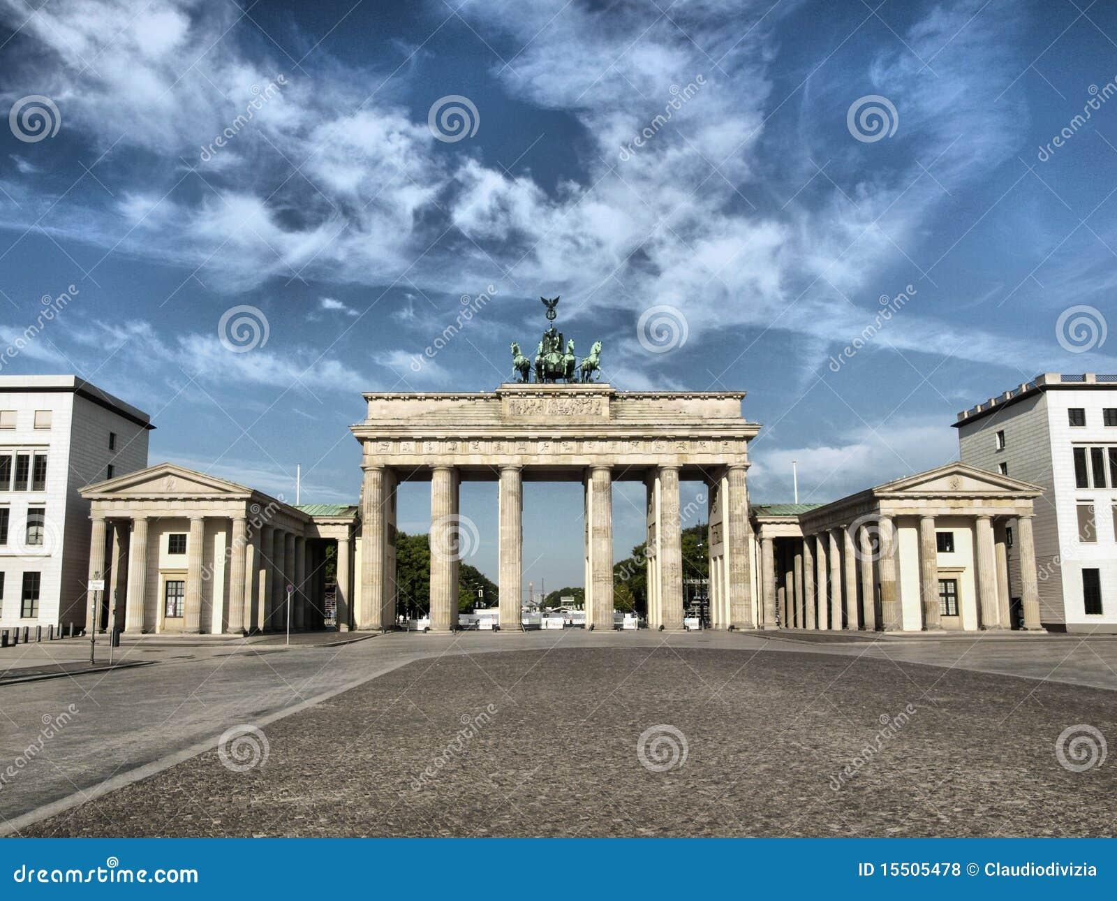 Massif de roche de Brandenburger, Berlin