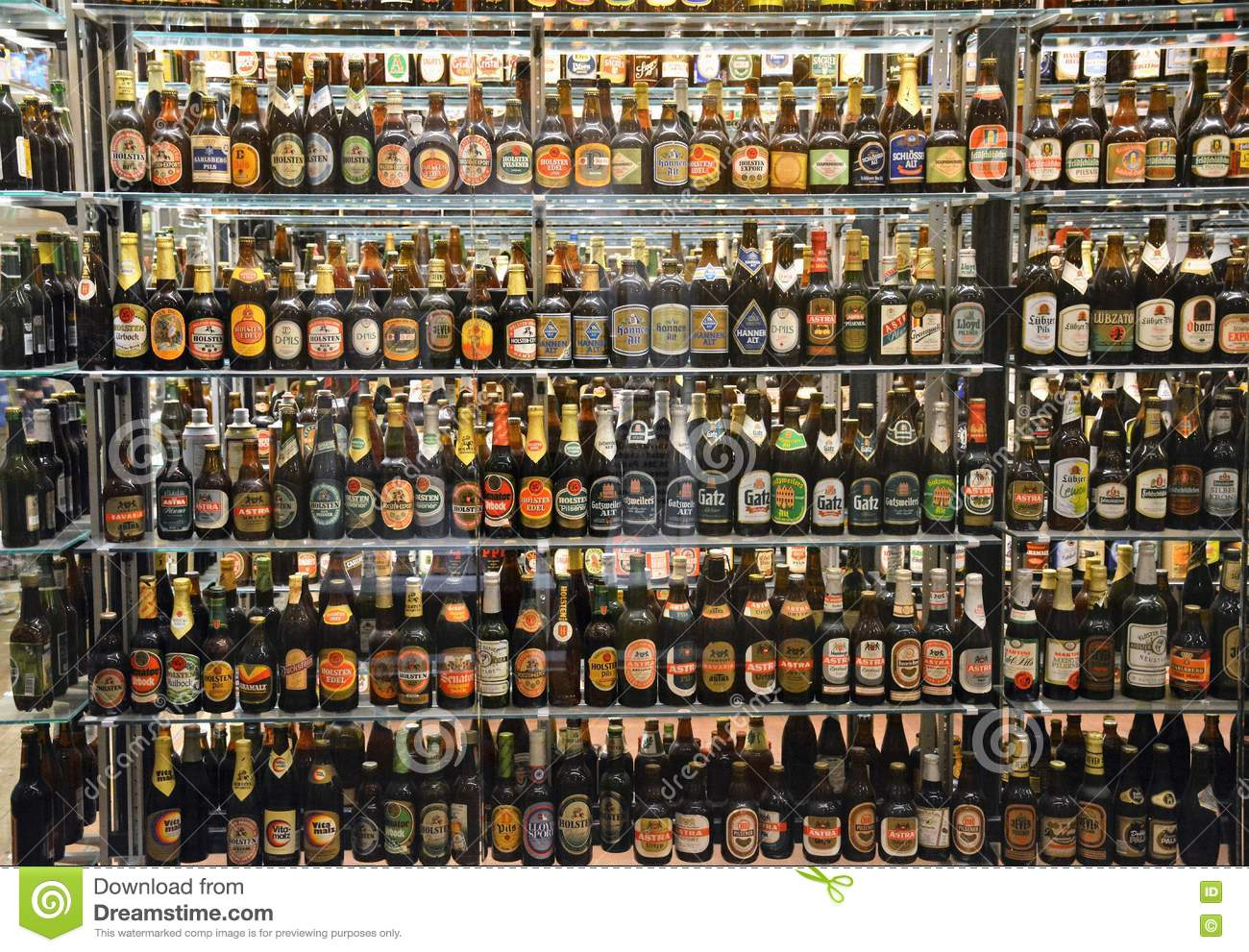 the massive bottle collection at the carlsberg brewery in copenhagen