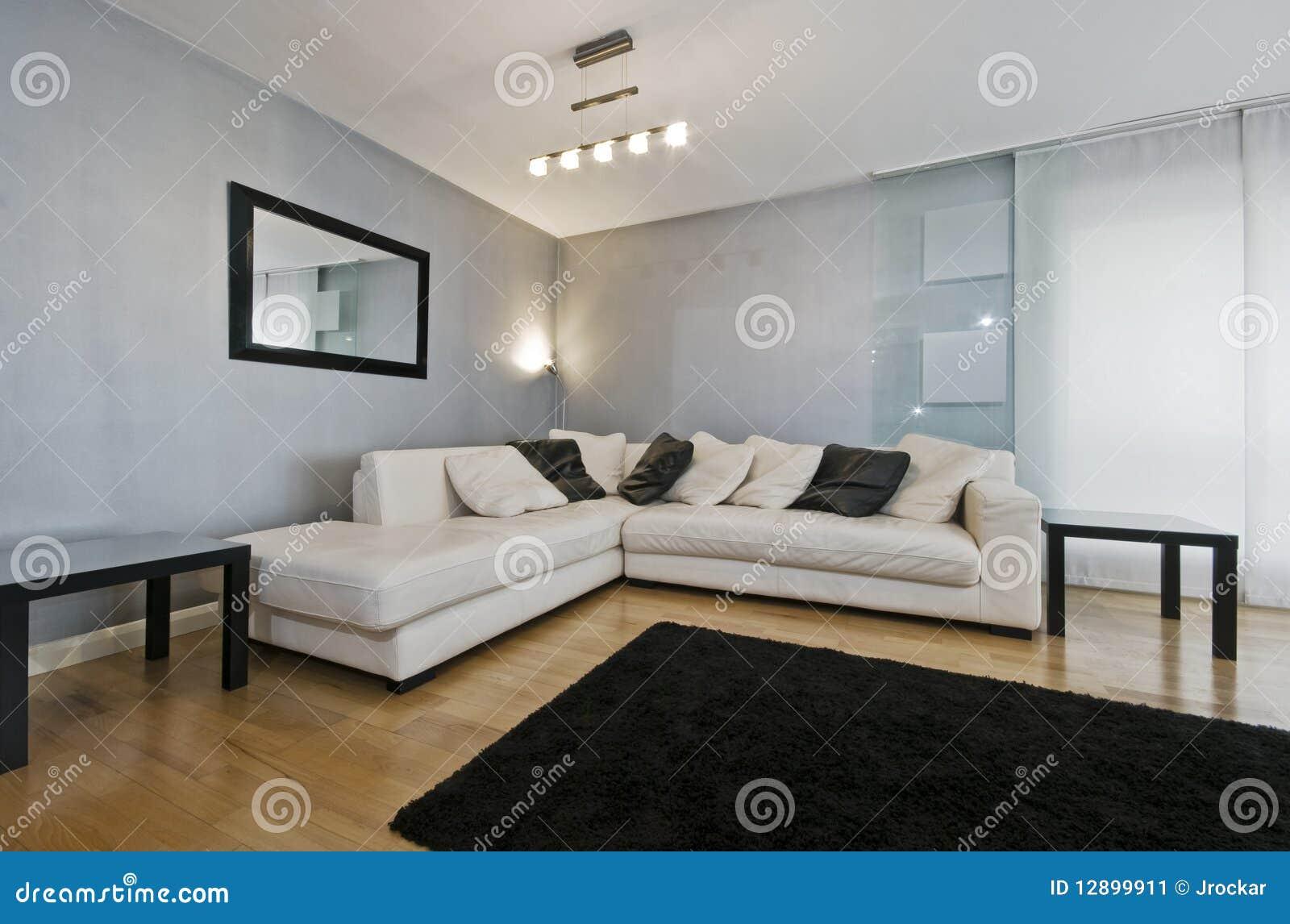 massive corner sofa stock image image 12899911. Black Bedroom Furniture Sets. Home Design Ideas