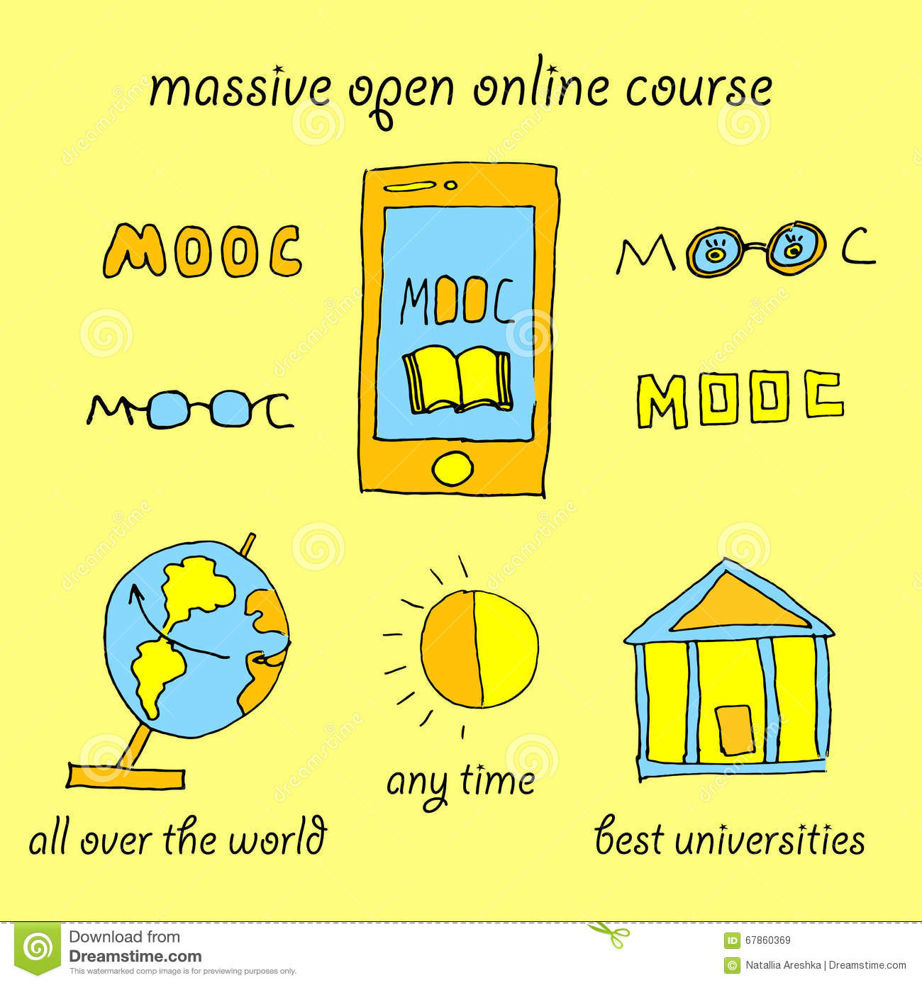 massive open online courses Learn online and earn valuable credentials from top universities like yale, michigan, stanford, and leading companies like google and ibm join coursera for free and transform your career with degrees, certificates, specializations, & moocs in data science, computer science, business, and dozens of other topics.