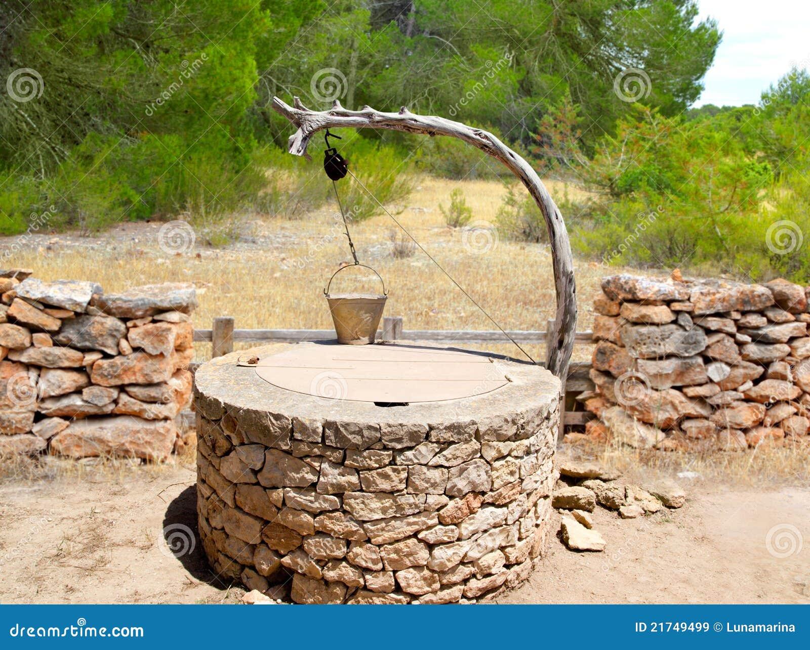 Massoneria mediterranea tradizionale del pozzo di tiraggio