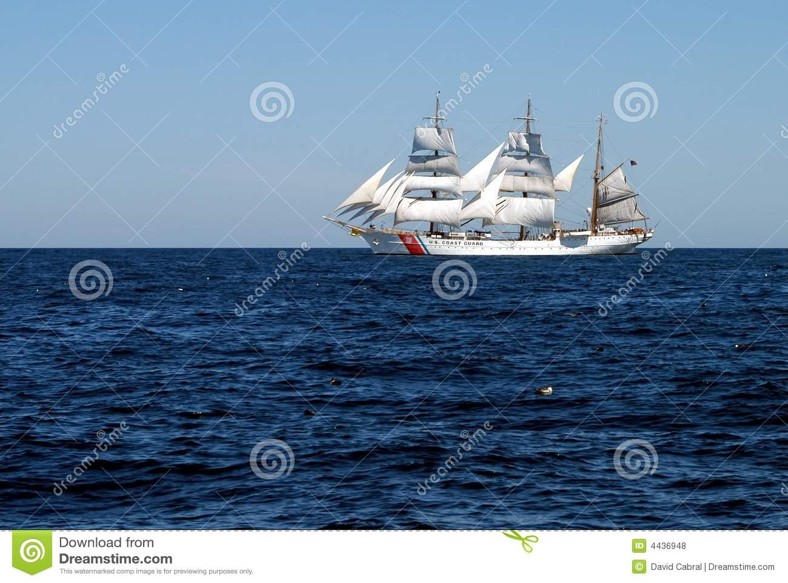 Masted schooner 3