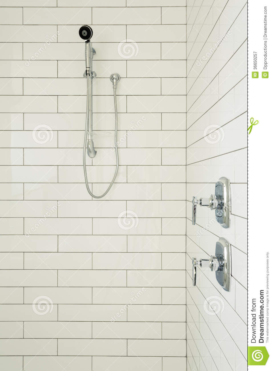 Master Bathroom Shower Stock Image Image Of Interior