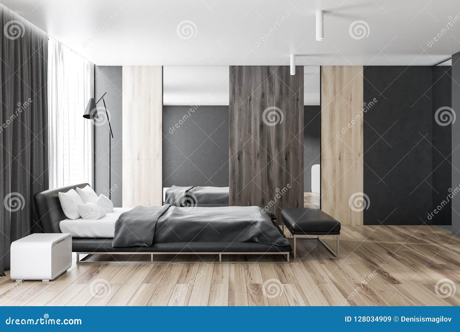 Master Bedroom Interior Side View Stock Illustration Illustration
