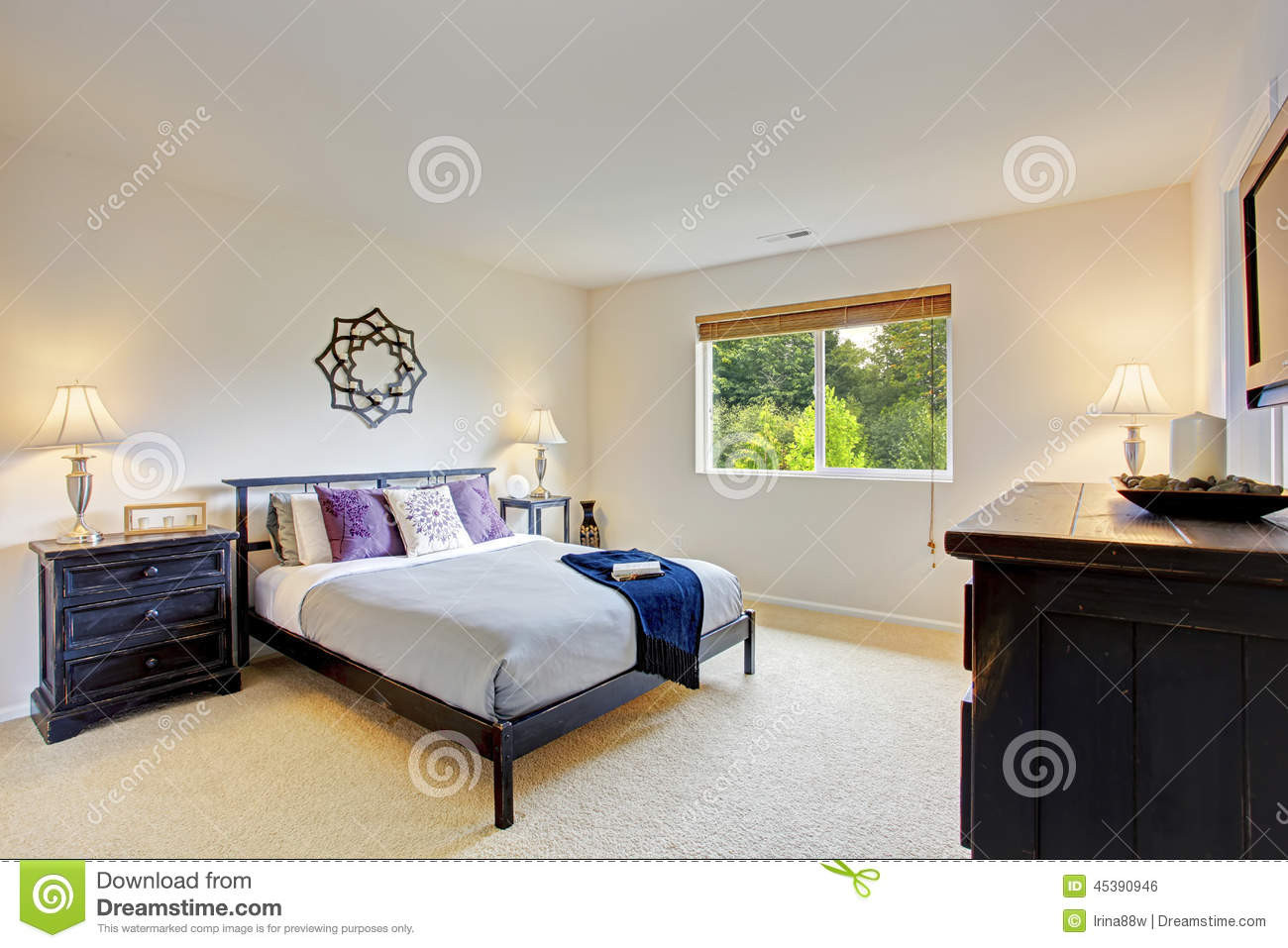 Master Bedroom Interior With Vanity Cabinet Stock Photo Image Of Idea Bright 45390946