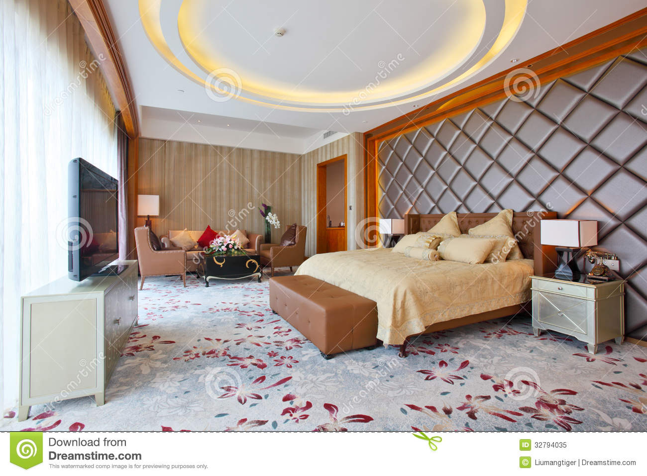 Master Bedroom Royalty Free Stock Photo Image 32794035