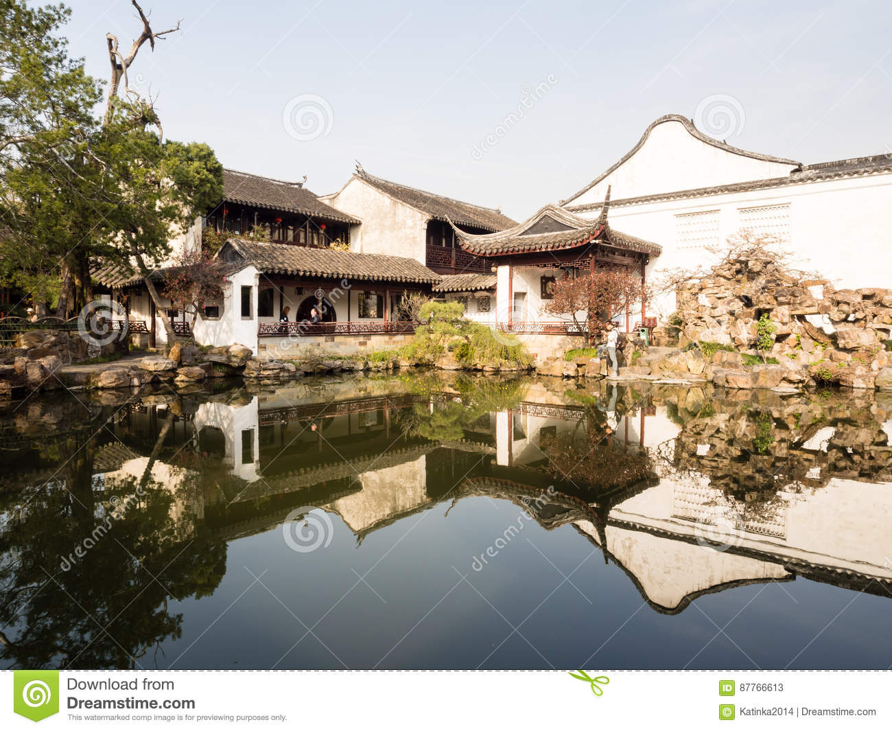 Master Of The Nets Garden In Suzhou, China Editorial Stock Photo ...
