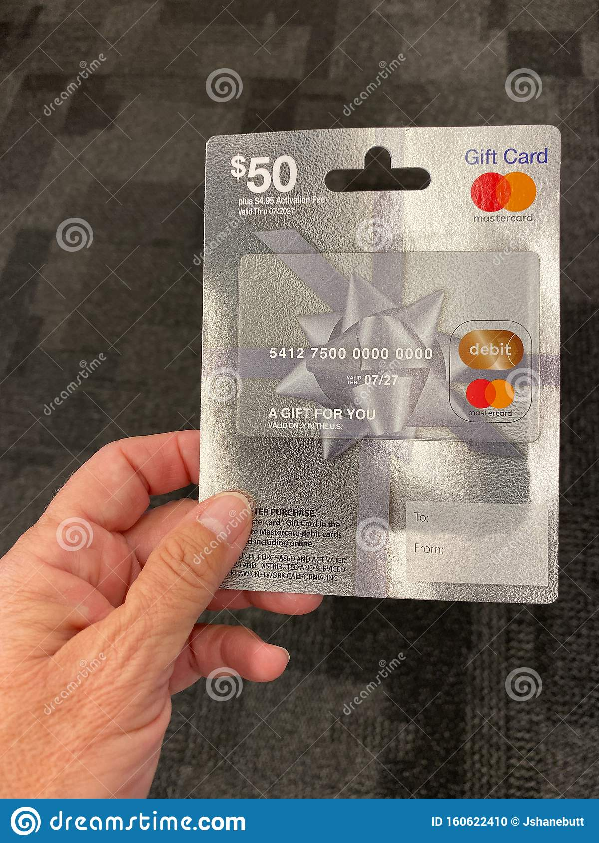 A Mastercard Gift Card Ready For A Person To Purchase Editorial Image Image Of Easy Birthday 160622410