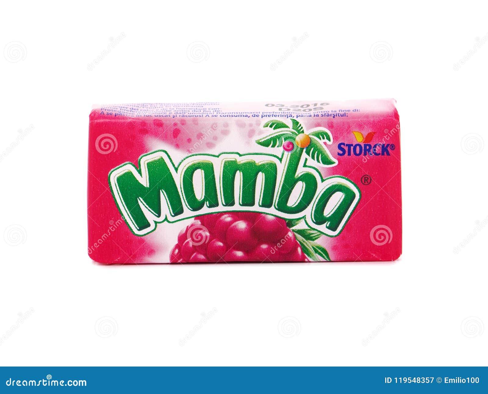 Mastications de fruit de Mamba faites par Storck