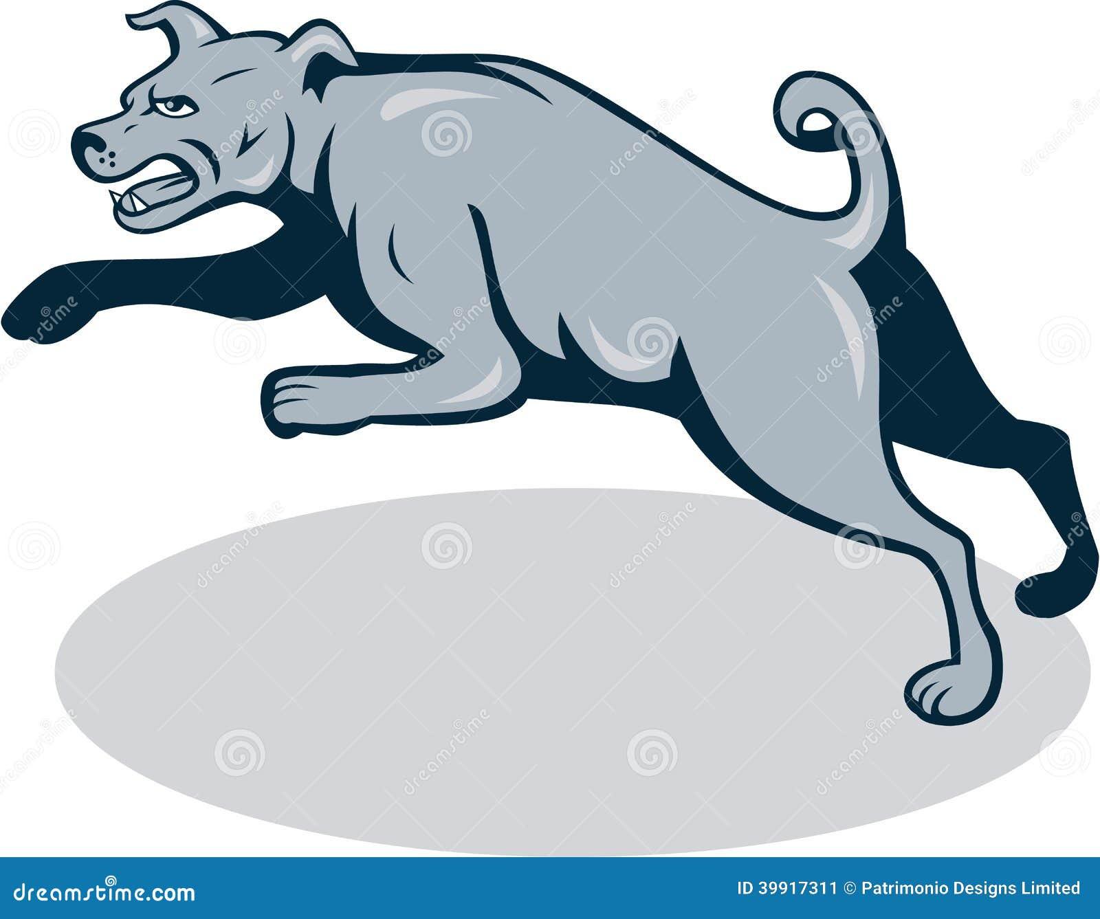 Cartoon Picture Dog Barking