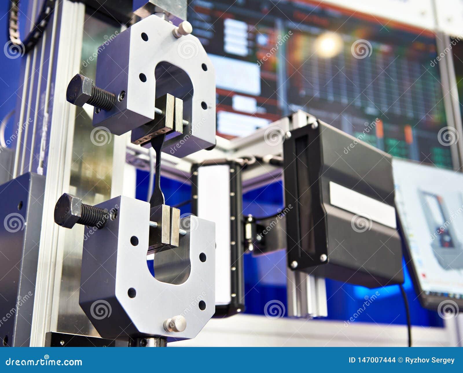 Maszyna dla badać metal dla tensile