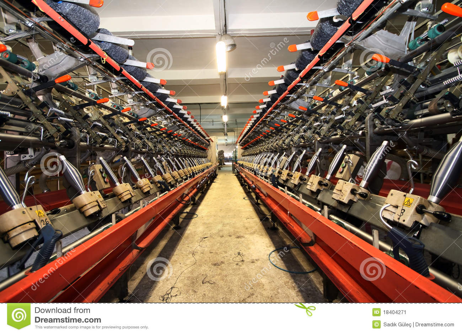 Maszynerii tkanina