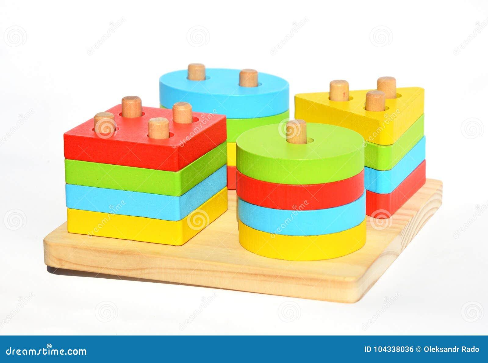 Matériaux multifonctionnels de montessori de jouets Étude de Montessori et méthode d éducation pour l éducation d enfants Jouets