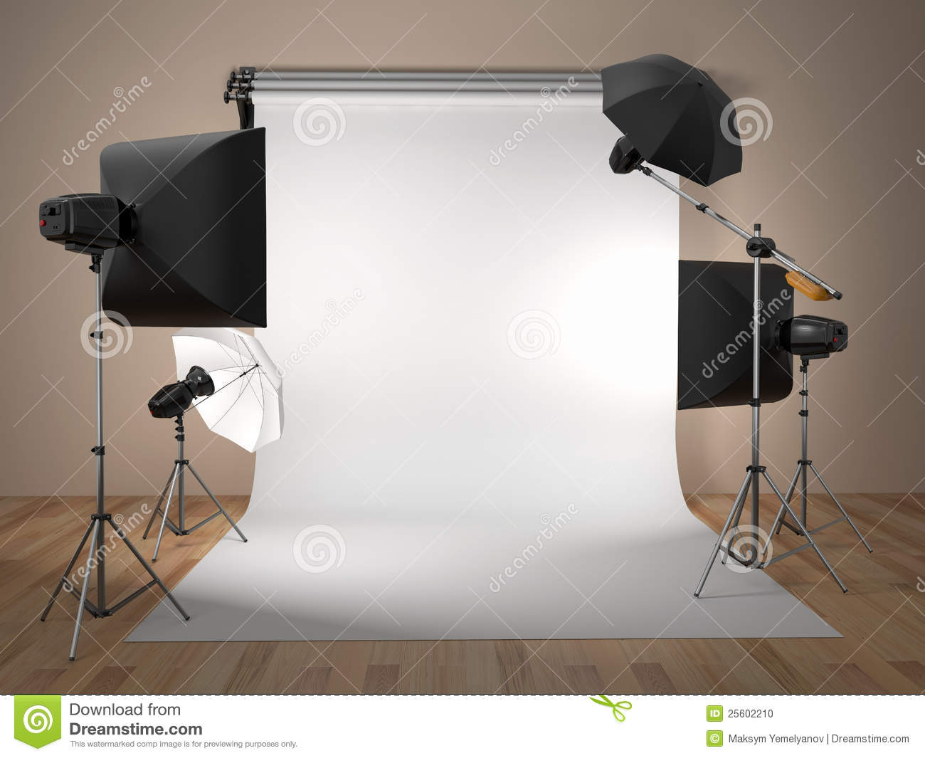Mat riel de studio de photo l 39 espace pour le texte photo stock image 25602210 - Optimaliseer de studio ...