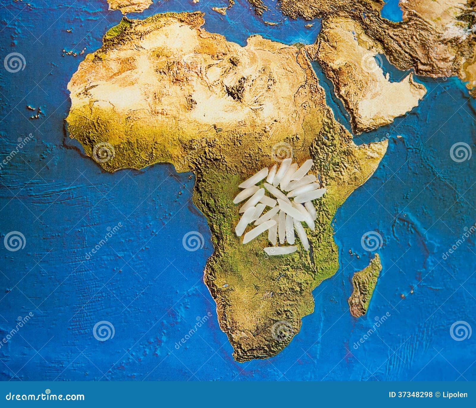 Mat för Afrika