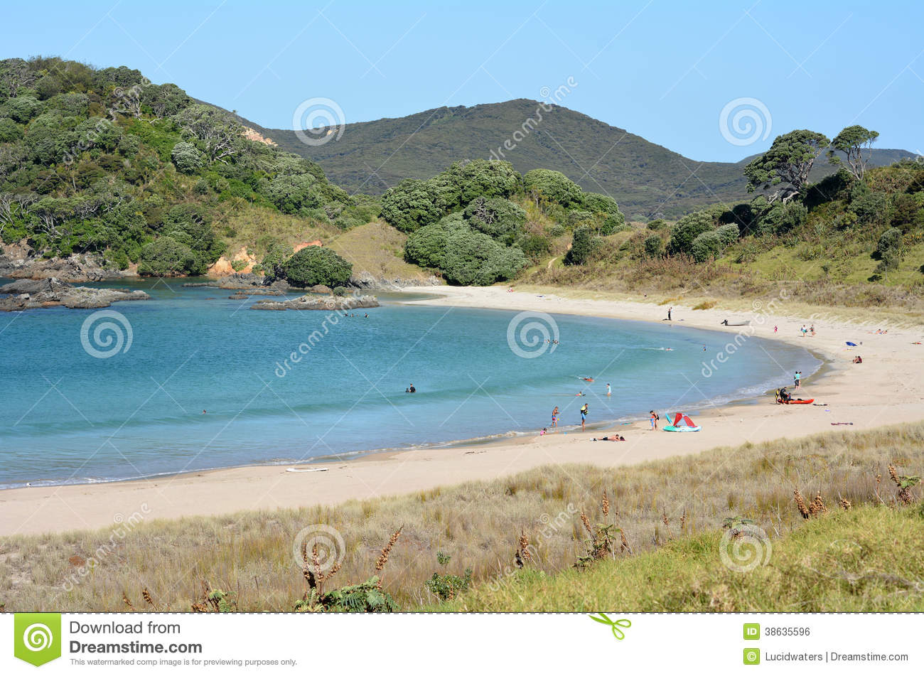 Karikari Peninsula New Zealand  City pictures : Matai Bay Karikari Peninsula New Zealand Editorial Photo Image ...