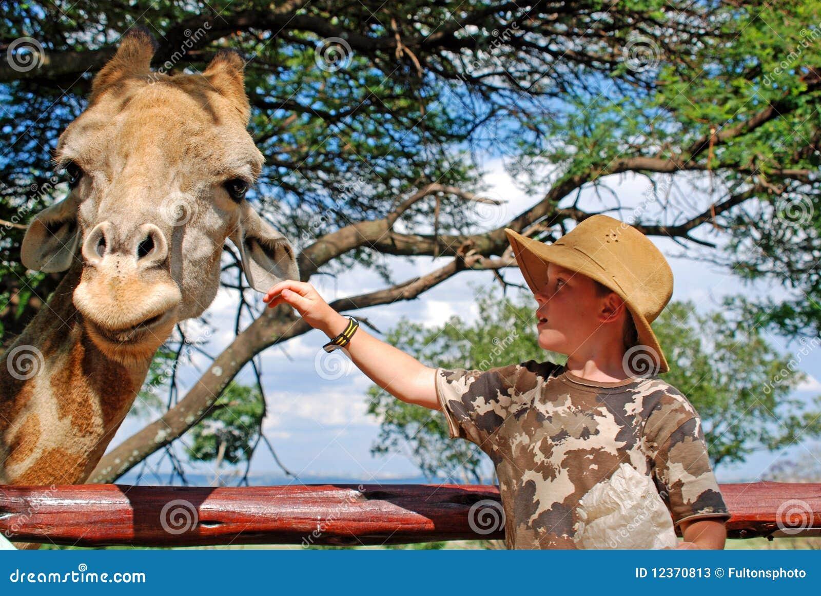 Matande giraff för barn